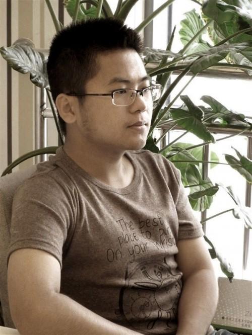 装饰工程公司设计部经理冉之旭照片