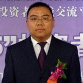 东兴证券董事总经理侯思贤照片