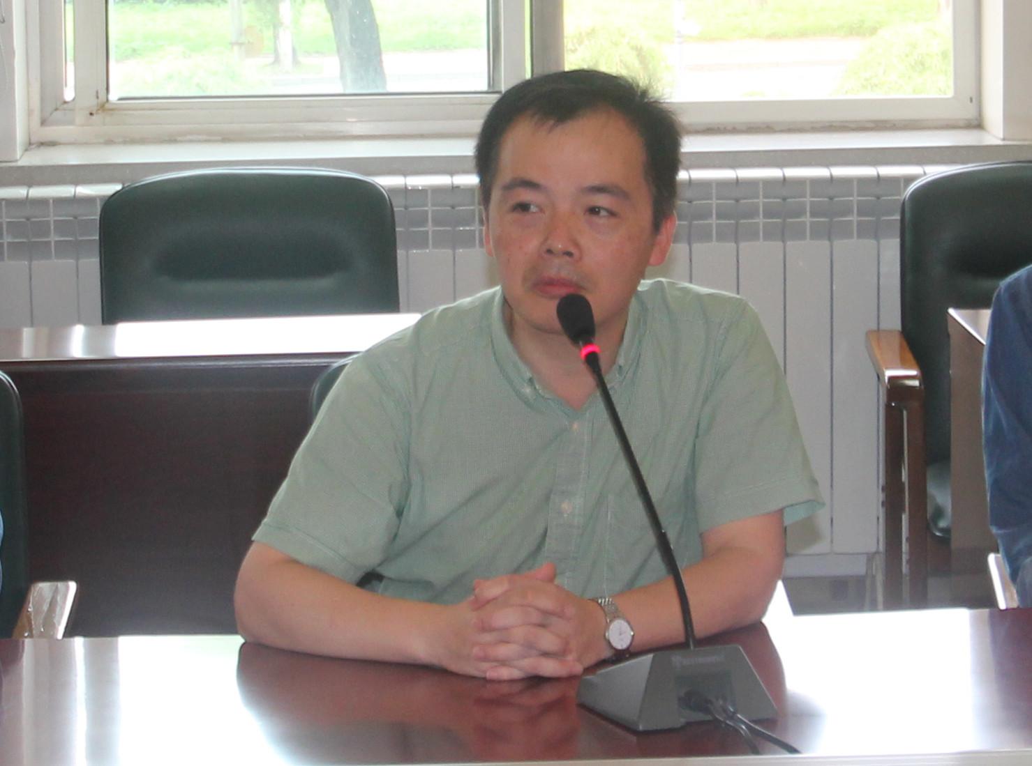 北京化工大学材料学院副教授曹维宇照片