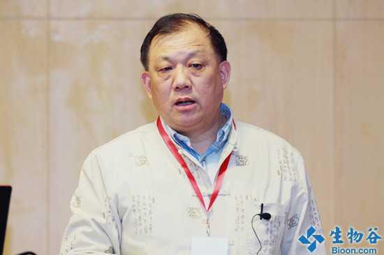 中科院上海生命科学开放实验室副主任朱景德照片
