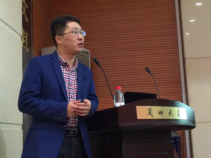 南京师范大学教授兰亚乾照片