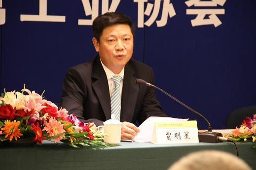 中国有色金属学会常务副理事长贾明星照片