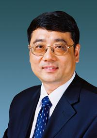 国有重点大型企业监事会主席李克明照片