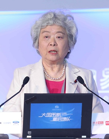 中国人民银行前副行长吴晓灵