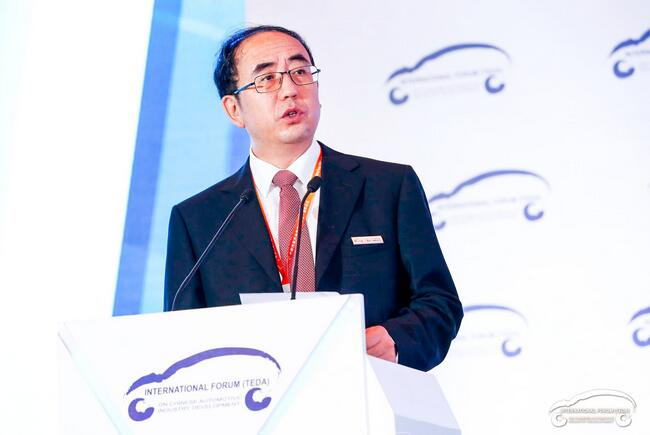 中国汽车技术研究中心党委书记于凯照片