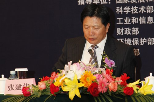 中国汽车技术研究中心副主任张建伟