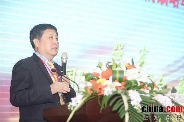 商务部中国国际经济合作学会副秘书长强宏照片