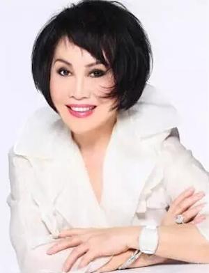 羽西化妆品公司创始人靳羽西照片