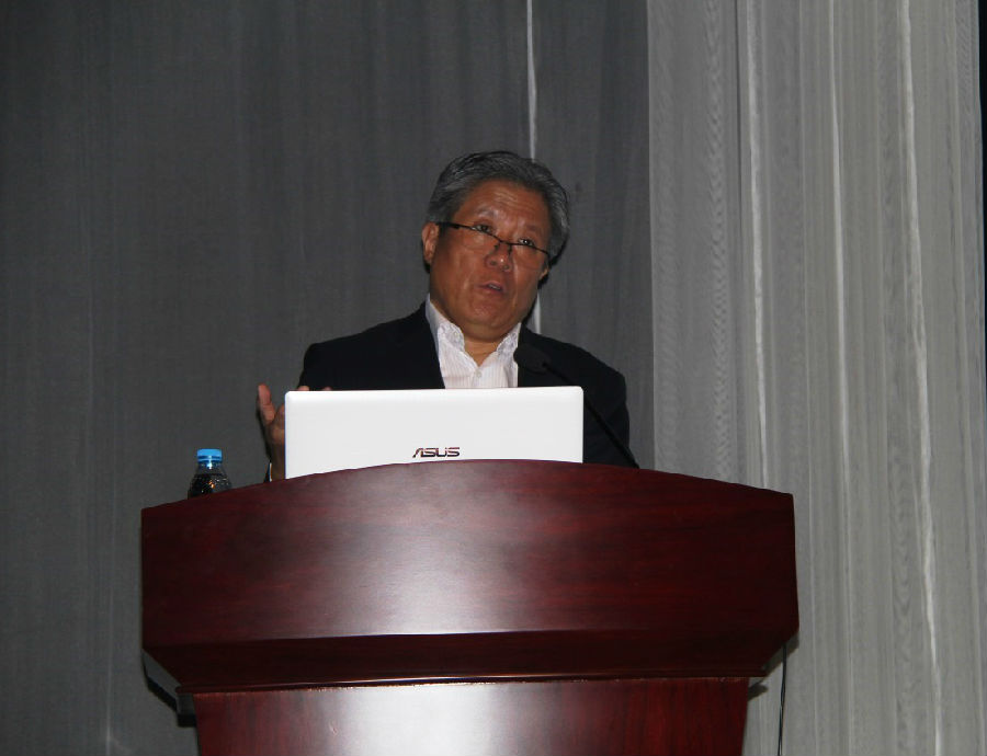 卫生计生委消毒标准专业委员会副秘书长李新武照片