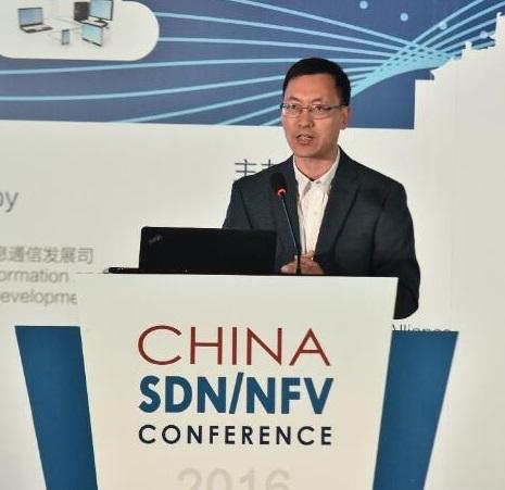 中国电信技术部业务经理王波照片