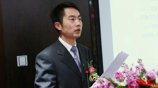 湘商商品交易中心董事长罗勇峰照片