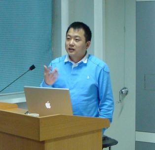 Florida International University大学计算与信息科学学院助理教授李涛照片