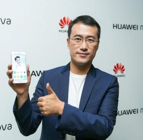 华为手机产品线总裁何刚照片