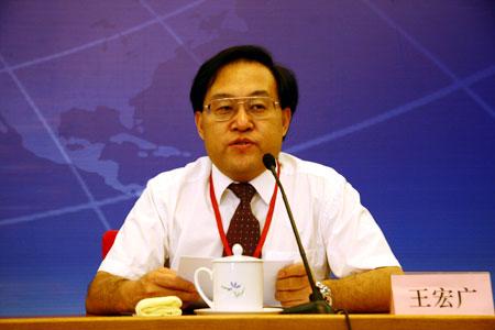 國家科技部發展戰略研究院副院長王宏廣照片