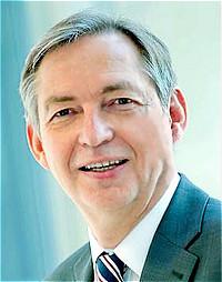 德国蒂森克虏伯集团首席技术官 Reinhold Achatz照片