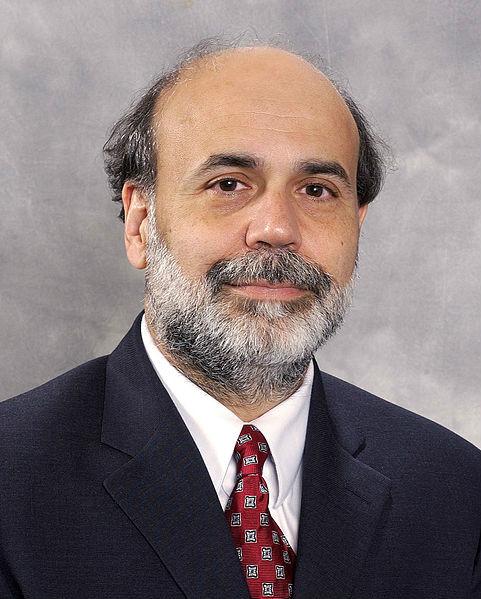 美国联邦储备局  委员会主席本·伯南克照片