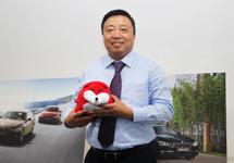 中國 寶馬二手車管理高級經理張一村照片