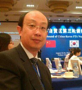 對外經濟貿易大學國際商務與經濟合作學系主任王健照片