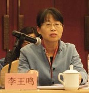 中国地理学会城市地理专业委员会 副主任李王鸣照片