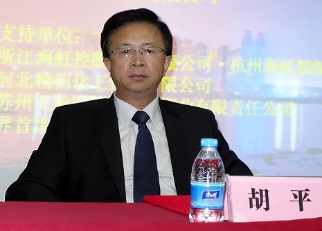 大连理工大学汽车工程学院院长胡平照片