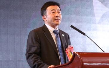 中国商协会服务工作委员会常务副主任王㭎照片