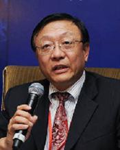 中国银联执行副总裁柴洪峰照片