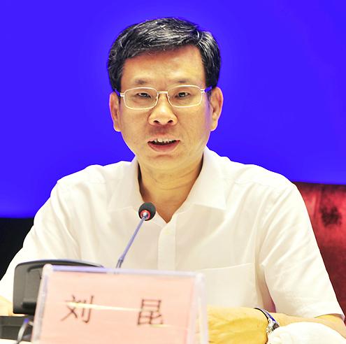 十二届全国人民代表大会财政经济委员会副主任委员刘昆照片