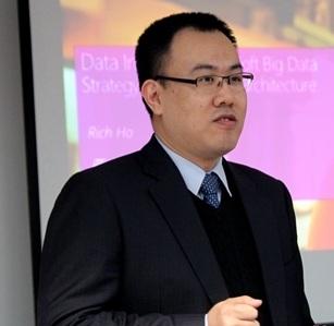 微软全球数据科学卓越中心首席架构师Rich Ho照片