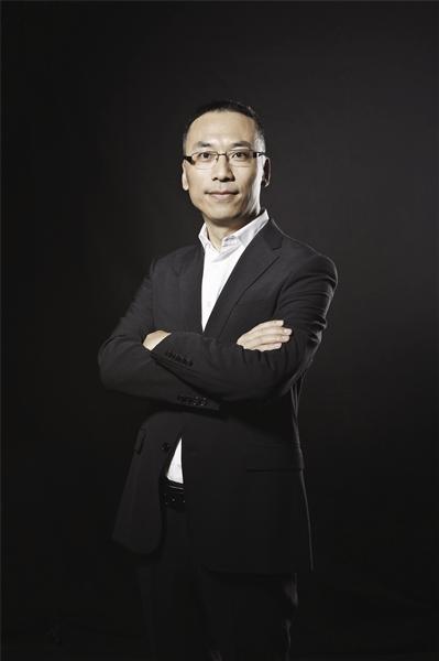 浙江博客信息技术有限公司董事长、创始人何一兵照片
