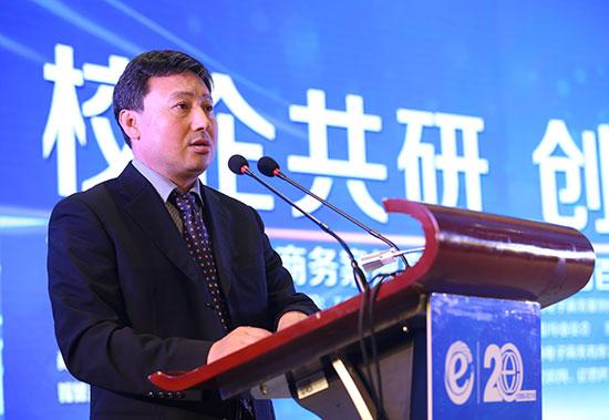 商务部中国电子商务中心司长付诚照片