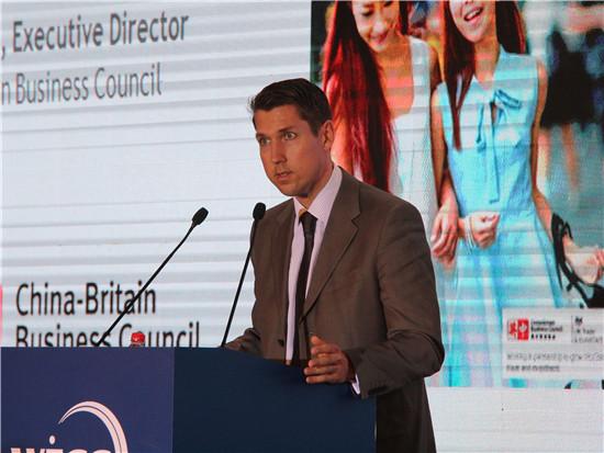 中英商会中国区总裁Kirk Wilson照片