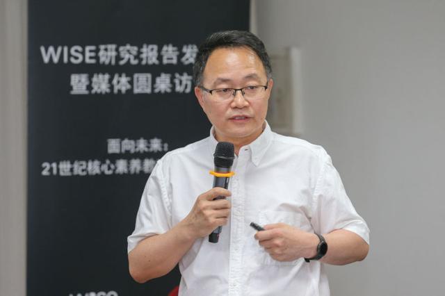 北京师范大学中国创新教育研究院院长刘坚照片