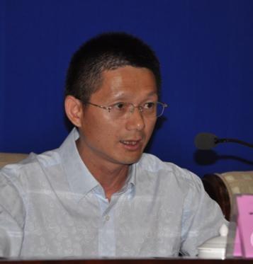 中国登山协会开发部主任丁祥华