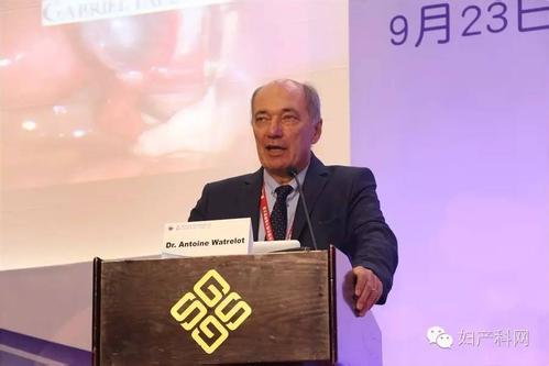 国际输卵管与生殖外科协会前任主席Dr. Antonie Watrelot照片