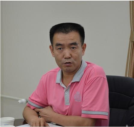 首都医科大学校长助理吴兵照片