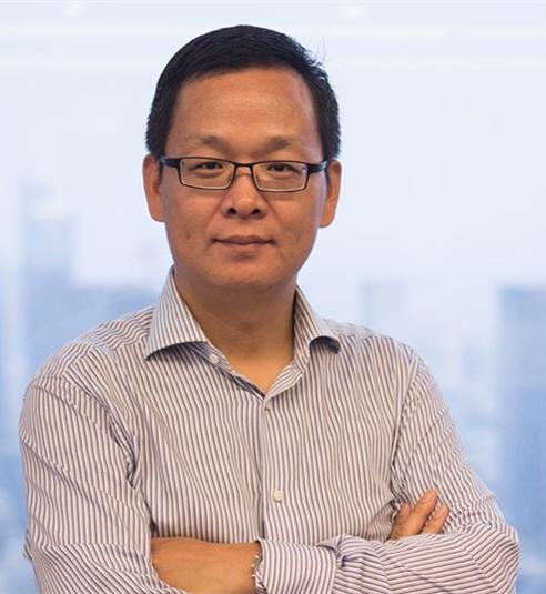 国信证劵投行部董事总经理魏其芳照片
