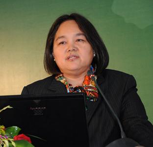 中国移动研究院首席科学家易芝玲(Chih-Lin I)照片