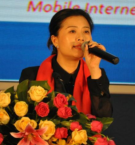 WISH中国区总监方芳照片
