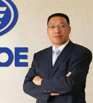 一汽解放汽车有限公司无锡柴油机厂厂长钱恒荣照片