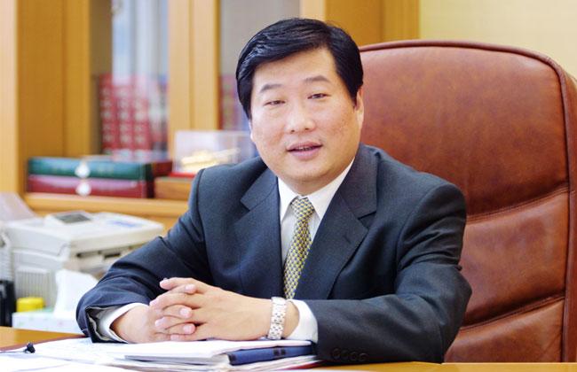 潍柴控股集团有限公司董事长谭旭光照片