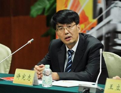 一汽解放汽车有限公司执行副总经理许宪志照片