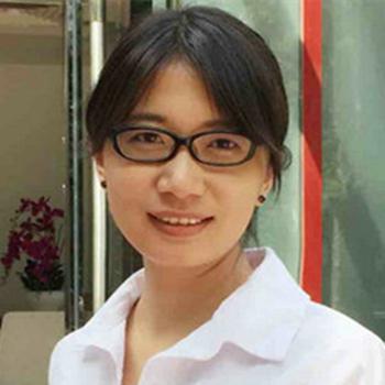 海智公司商业数据平台(BDP)首席架构师杨娟照片