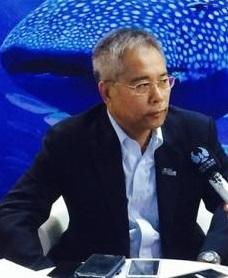 长隆海洋王国总经理陈铭安照片