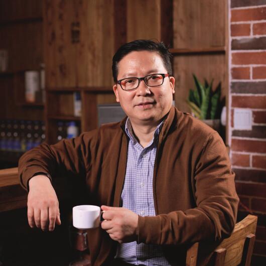 安家传媒集团董事长刘文斌照片