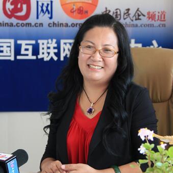 东绿集团董事长梁秀雪照片