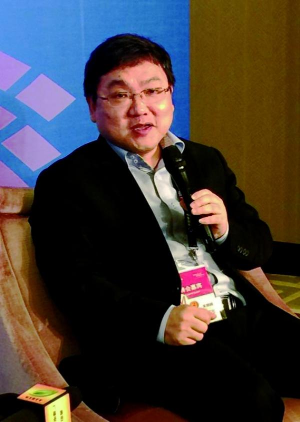上海智臻网络科技有限公司总裁朱频频照片