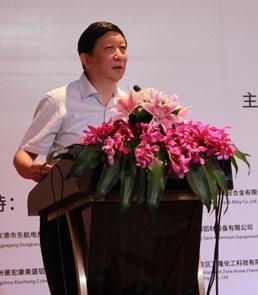 中国建筑金属结构协会副会长钱经纬照片