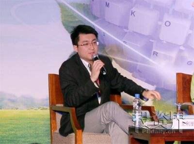 清科资本集团董事总经理王利鹏照片