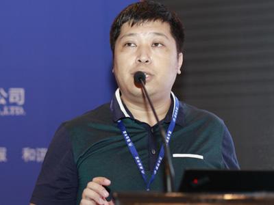 鹏元资信评估结构融资部总经理李琳 照片