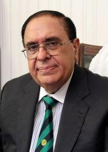巴基斯坦科学院院长阿塔·拉曼照片
